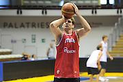 Trieste, 08/08/2012<br /> Baslet, Nazionale Italiana Maschile Senior<br /> Allenamento<br /> Nella foto: david chiotti<br /> Foto Ciamillo