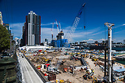 Construction of Sydney Crown Casino and Crown Sydney Hotel and Resort.