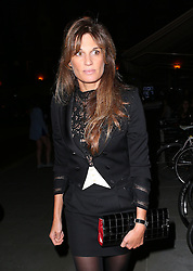 Jemima Khan at the popular Chiltern Firehouse in London, UK. 12/09/2014 <br />BYLINE MUST READ : JAMESY/GOTCHA IMAGES<br /><br />Copyright by © Gotcha Images Ltd. All rights reserved.<br />Usage of this image is conditional upon the acceptance <br />of Gotcha Images Ltd, terms and conditions available at<br />www.gotchaimages.com