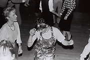 Teenagers dancing at a party, West London, UK 1984