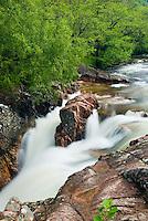 Lower falls of the River Nevis, Glen Nevis Scotland