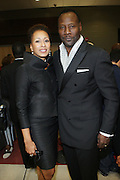 l to r: Tamara Tunie and Gregory Generet at The Official unveiling of the new state of the art Cicely L. Tyson Community School of Performing and Fine Arts on October 24, 2009 in East Orange, New Jersey