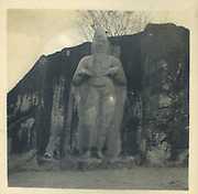 Statue of Parakramabahu<br /> from the Tony Peries Collection.