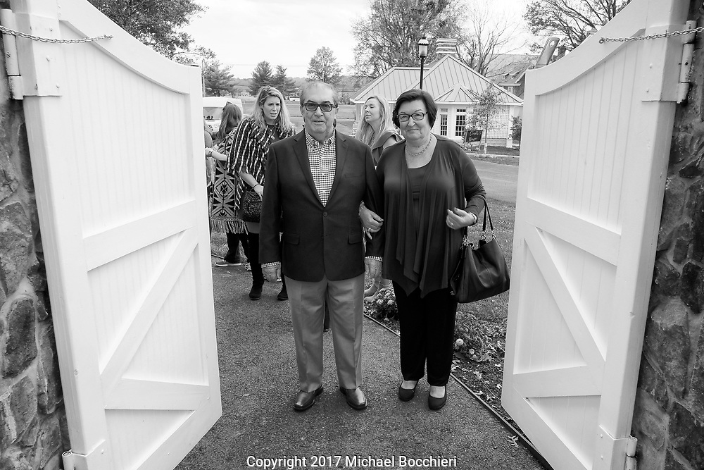 Whitehouse Station, NJ - November 03:  Wedding rehersal between Ally Hausner and Cesar Rainho at the Ryland Inn on November 03, 2017 in Whitehouse Station, NJ.  (Photo by Michael Bocchieri/Bocchieri Archive)