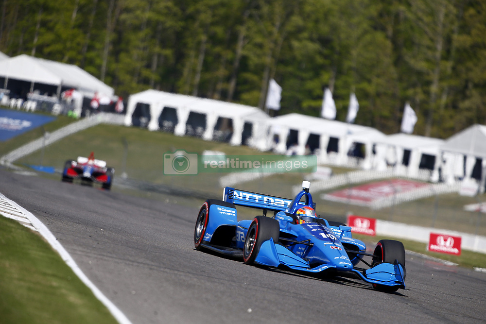 April 20, 2018 - Birmingham, Alabama, United States of America - April 20, 2018 - Birmingham, Alabama, USA: NTT Data, ED JONES (10) of the United Arab  Emirates takes to the track to practice for the Honda Grand Prix of Alabama at Barber Motorsports Park in Birmingham, Alabama. (Credit Image: © Justin R. Noe Asp Inc/ASP via ZUMA Wire)