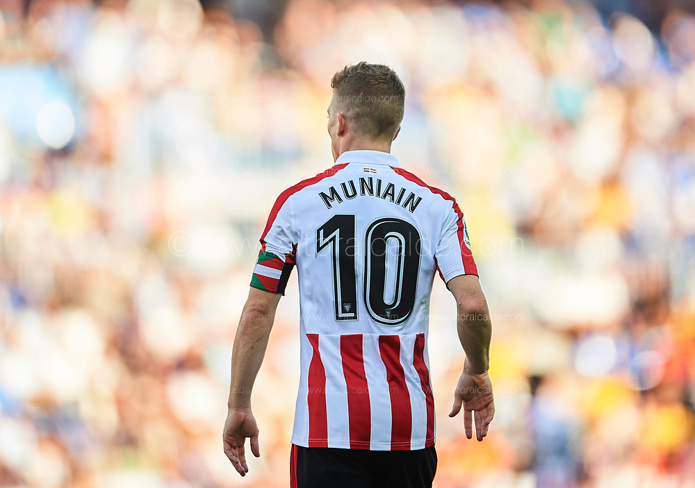 MALAGA, SPAIN - SEPTEMBER 23:  Iker Muniain of Athletic Club looks on during the La Liga match between Malaga and Athletic Club at Estadio La Rosaleda on September 23, 2017 in Malaga, .  (Photo by Aitor Alcalde Colomer/Getty Images)