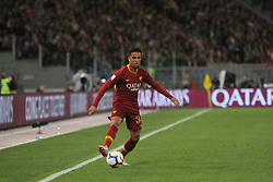 May 12, 2019 - Rome, Italy, Italy - (Justin Kluivert) At Stadio Olimpico, As Roma beat Juventus 2-0  with the goal of Alessandro Florenzi and Edin Dzeko (Credit Image: © Paolo Pizzi/Pacific Press via ZUMA Wire)
