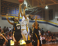 Oxford High vs. Hernando in girls high school basketball in Oxford, Miss. on Wednesday, December 29, 2010.