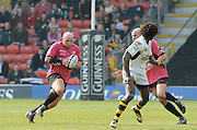 Watford, GREAT BRITAIN, left,  Saracens'  matt CAIRNS, during the Guinness Premiership game, Saracens vs London Wasps. 20.04.2008 [Mandatory Credit Peter Spurrier/Intersport Images]