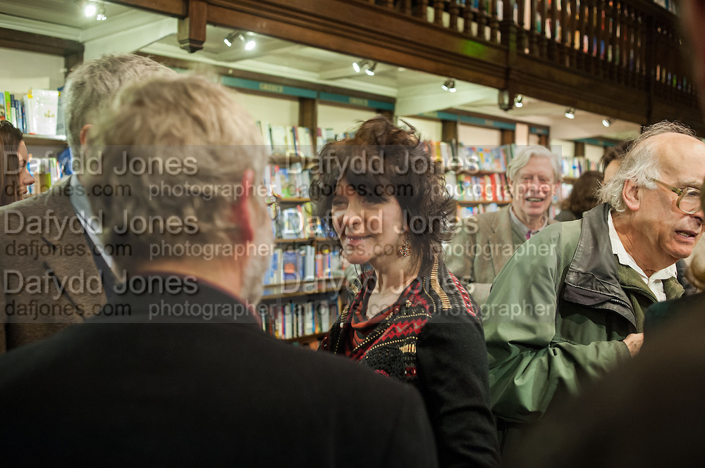 RUTH PADEL; , William Fitzgerald, Book launch ,  'How to read a Latin poem - if you can't read Latin yet' published by OUP.- Daunts bookshop Marylebone, London 21 February 2013.