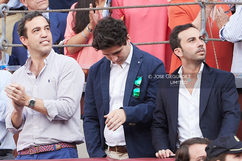 Felipe Juan Froilan Marichalar attended Beneficencia bullfight at Las Ventas Bullring on June 16, 2017 in Madrid, Spain