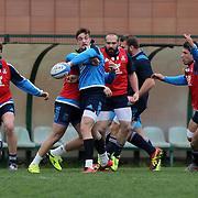 Roma 06/03/2017 CPO Giulio Onesti<br /> Allenamento nazionale italiana<br /> gli azzurri durante l'allenamento