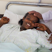 A fistula patient in Addis Ababa