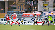 St Mirren&rsquo;s Jack Baird doubles his side's lead early in the second half - Dundee v St Mirren in the William Hill Scottish Cup at Dens Park, Dundee. Photo: David Young<br /> <br />  - &copy; David Young - www.davidyoungphoto.co.uk - email: davidyoungphoto@gmail.com