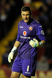 Walsall's Richard O'Donnell - Photo mandatory by-line: Dougie Allward/JMP - Mobile: 07966 386802 26/08/2014 - SPORT - FOOTBALL - Walsall - Bescot Stadium - Walsall v Crystal Palace - Capital One Cup