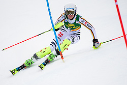 January 7, 2018 - Kranjska Gora, Gorenjska, Slovenia - Lena Duerr of Germany competes on course during the Slalom race at the 54th Golden Fox FIS World Cup in Kranjska Gora, Slovenia on January 7, 2018. (Credit Image: © Rok Rakun/Pacific Press via ZUMA Wire)