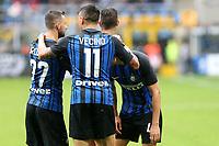 10.09.2017 - Milano - Serie A 2017/18 - 2a giornata  -  Inter-Spal nella  foto: Ivan Perisic  abbracciato dai compagni dopo il gol
