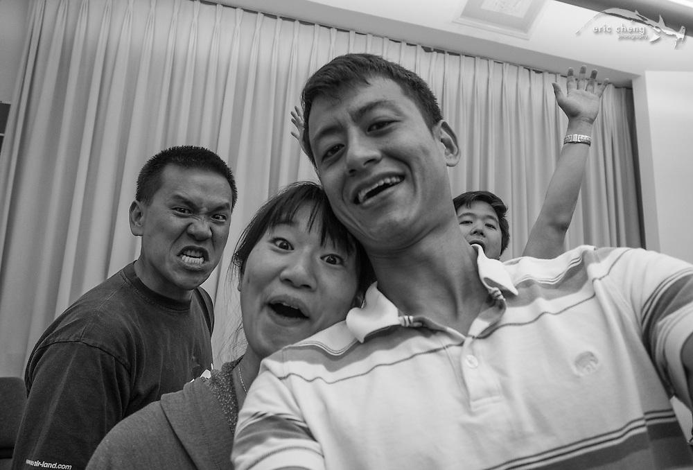 Pinky Quartet selfie #slsq2014