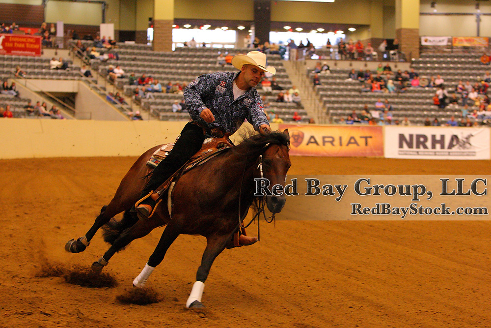 Craig Schmersal and Mister Montana Nic at the 2011 Kentucky Reining Cup in Lexington, KY.