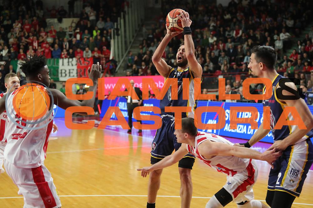 Vujacic Aleksander<br /> Openjobmetis Varese - Fiat Torino<br /> Lega Basket Serie A 2017/2018<br /> Varese, 14/01/2018<br /> Foto Ciamillo - Castoria