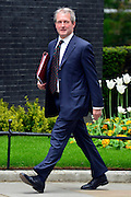© Licensed to London News Pictures. 21/05/2013. Westminster, UK. Owen Patterson, Conservative MP, Secretary of State for Energy and Climate Change. Ministers arrive for a Cabinet meeting at Downing Street today 21 May 2013. Photo credit : Stephen Simpson/LNP