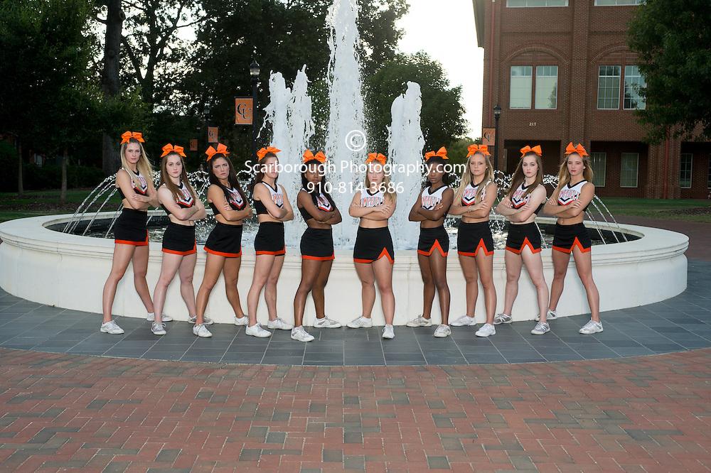 2015 Cheerleading Team