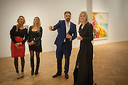 PRINCESS ELISABETH VON THURN UND TAXIS; PRINCESS MARIA VON THURN UND TAXIS;; ; KEITH TYSON; ROSAMUND PIKE, Panta Rhei. An exhibition of work by Keith Tyson. The Pace Gallery. Burlington Gdns. 6 February 2013.