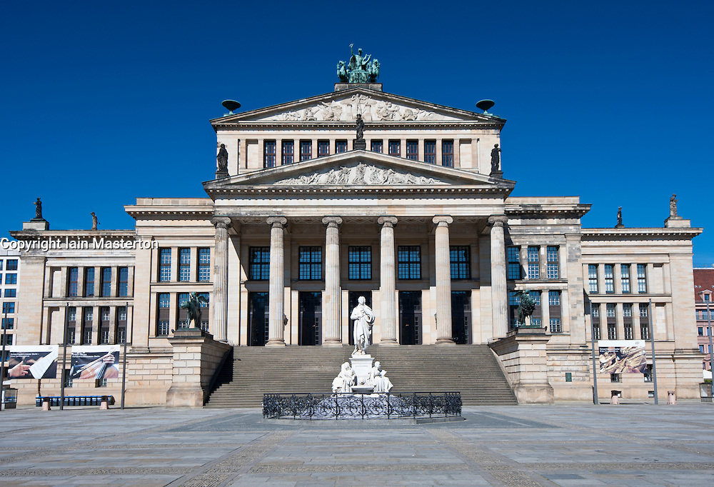 Konzerthaus in Gendarmenmarkt in Mitte Berlin Germany