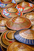 Thai bamboo hats