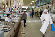 Municipal fish market in Kuwait City, Kuwait sells mostly locally caught fish. (Supporting image from the project Hungry Planet: What the World Eats.)