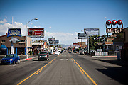 The Midtown district in Reno, Nevada, July 6, 2012.