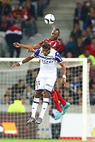 Stoppila Sunzu (Lille) vs Brandao (Bastia)