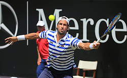 20170615, ATP Tour World, MercedesCup, Weissenhof Stuttgart,Tennis Sport, im Bild:..Feliciano Lopez ( ESP) ..*Copyright by:  Philippe Ruiz..Oberbrunner Strasse 2.81475 MŸnchen, .Tel: 089 745 82 22, .Mobil: 0177 29 39 408..( MAIL:  philippe_ruiz@gmx.de ) ..Homepage: www.sportpressefoto-ruiz.de. (Credit Image: © Philippe Ruiz/Xinhua via ZUMA Wire)