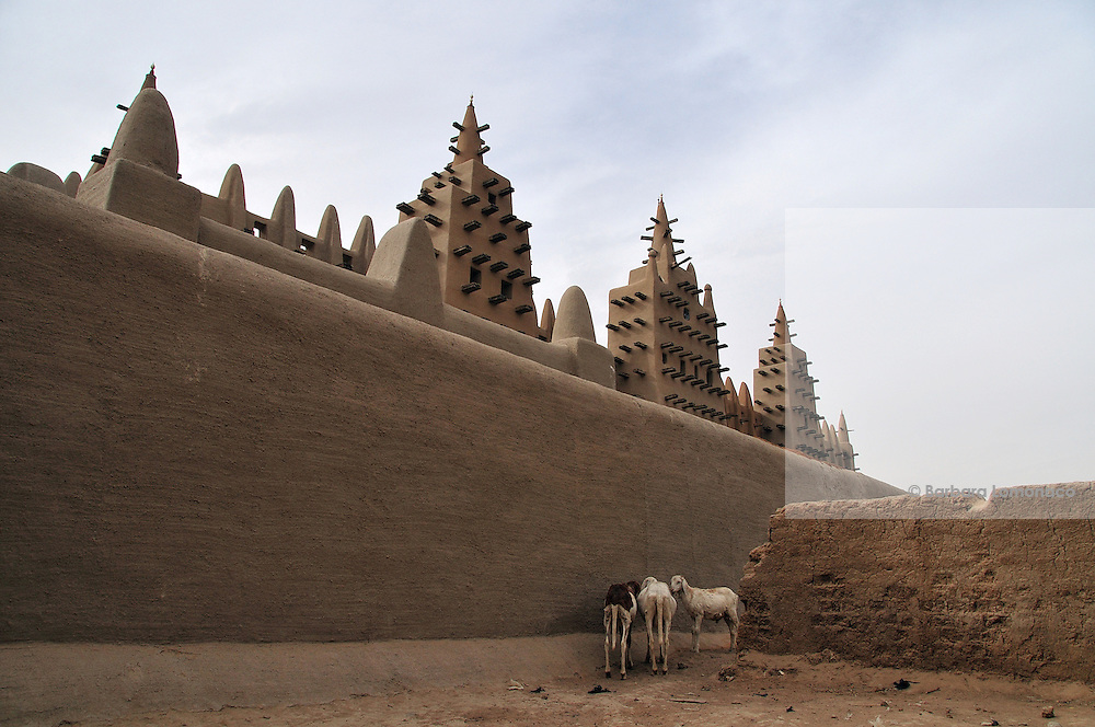 Djenné mud mosque.