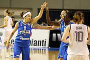 Taranto 05-06-2011<br /> Qualifying Tournament Eurobasket Women 2011<br /> Italia-Germania<br /> Nella foto Simona Ballardini<br /> Foto di Ciamillo-Castoria