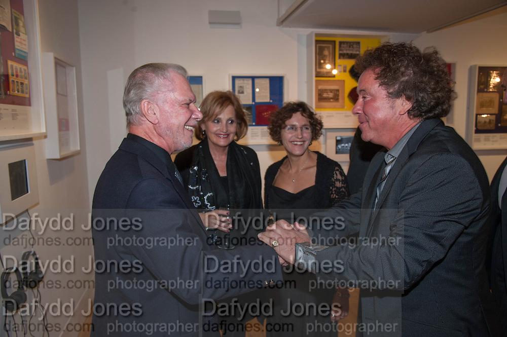 DAVID GOLD; LADY LEVENE; ABIGAIL MORRIS; BARRY SILKMAN, Four Four Jew: Football, Fans and Faith. Jewish Museum, London. 9 October 2013