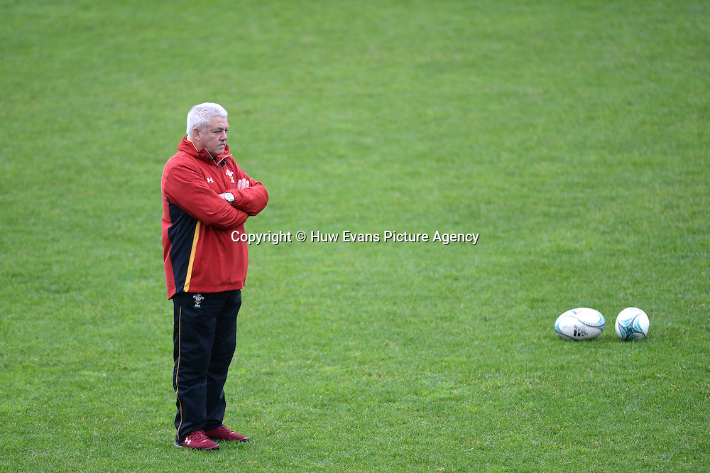 23.06.16 - Wales Rugby Training -<br /> Warren Gatland during training.
