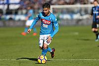 Atalanta-Napoli - Serie A 2017-18 - 21a giornata - Nella foto: Lorenzo Insigne - Napoli calcio serie A