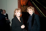 JOYCE HYTNER; PATRICIA HODGE  Joint opening reception for the  Van Doesburg and Arshile Gorky exhibitions. Afterwards a dinner for the Gorki exhibition. Tate Modern. London. 9 February 2010 *** Local Caption *** -DO NOT ARCHIVE-© Copyright Photograph by Dafydd Jones. 248 Clapham Rd. London SW9 0PZ. Tel 0207 820 0771. www.dafjones.com.