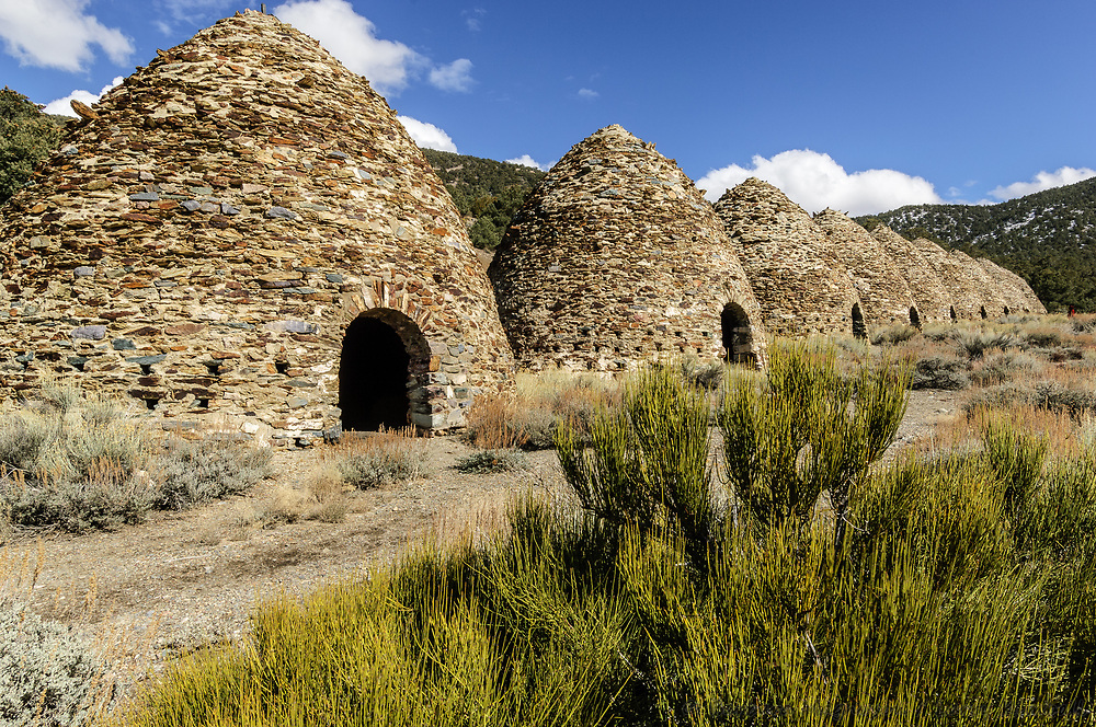 Charcoal kilns; Death Valley NP., CA