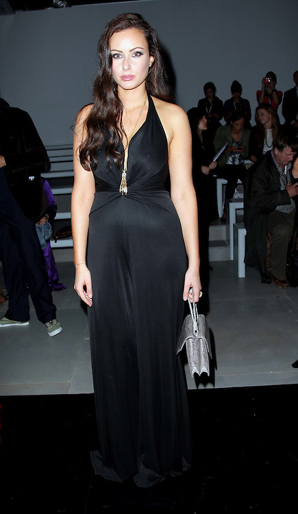 Camilla al Fayed  at the Issa show at London Fashion Week, Spring/Summer 2012 ,Saturday, 17th September 2011 Photo by: Stephen Lock/i-Images