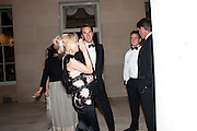 COURTNEY LOVE; OTIS FERRY, The Goodwood Ball. In aid of Gt. Ormond St. hospital. Goodwood House. 27 July 2011. <br /> <br />  , -DO NOT ARCHIVE-© Copyright Photograph by Dafydd Jones. 248 Clapham Rd. London SW9 0PZ. Tel 0207 820 0771. www.dafjones.com.