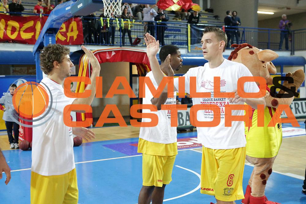 DESCRIZIONE : Frosinone Lega Basket A2  eurobet 2012-13  Prima Veroli Novipi&ugrave; Casale Monferrato<br /> GIOCATORE : Jurevicus Mareks <br /> CATEGORIA : pre game<br /> SQUADRA : Prima Veroli<br /> EVENTO : Lega Basket A2  eurobet 2012-13 <br /> GARA : Prima Veroli Novipi&ugrave; Casale Monferrato<br /> DATA : 18/11/2012<br /> SPORT : Pallacanestro <br /> AUTORE : Agenzia Ciamillo-Castoria/ M.Simoni<br /> Galleria : Lega Basket A2 2012-2013 <br /> Fotonotizia : Frosinone Lega Basket A2  eurobet 2012-13  Prima Veroli Novipi&ugrave; Casale Monferrato<br /> Predefinita :