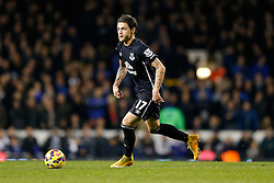 Muhamed Besic of Everton in action - Photo mandatory by-line: Rogan Thomson/JMP - 07966 386802 - 30/11/2014 - SPORT - FOOTBALL - London, England - White Hart Lane - Tottenham Hotspur v Everton - Barclays Premier League.