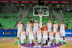 Team of Spain during basketball match between Slovenia and Spain in Round #5 of FIBA Basketball World Cup 2019 European Qualifiers, on June 28, 2018 in SRC Stozice, Ljubljana, Slovenia. Photo by Urban Urbanc / Sportida