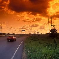 Autopista Valencia-San Carlos, Estado Carabobo, Venezuela.