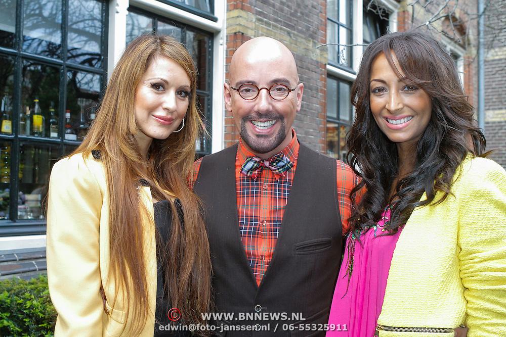 NLD/Amsterdam/20120618 - Inloop Meest Sexy Mannelijke BN'er , Tamara Elbaz, Mike de Boer, en Maria Tailor