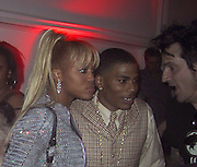 Nelly &amp; Eve with Tommy Lee<br />Justin Timberlake &amp; Nelly&rsquo;s Post Grammy Party<br />Capitale Nightclub<br />Sunday, February 23, 2003.<br />New York, NY, USA<br />Photo By Celebrityvibe.com/Photovibe.com