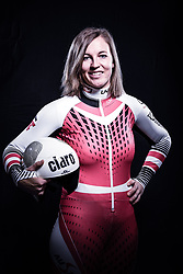 12.10.2019, Olympiahalle, Innsbruck, AUT, FIS Weltcup Ski Alpin, im Bild Michaela Dygruber // during Outfitting of the Ski Austria Winter Collection and the official Austrian Ski Federation 2019/ 2020 Portrait Session at the Olympiahalle in Innsbruck, Austria on 2019/10/12. EXPA Pictures © 2020, PhotoCredit: EXPA/ JFK