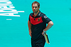 11–01-2020 NED: Semi Final Olympic qualification tournament women Germany - Netherlands, Apeldoorn<br /> First semi final match Germany - Netherlands 3-0 / Head Coach Felix Koslowski of Germany